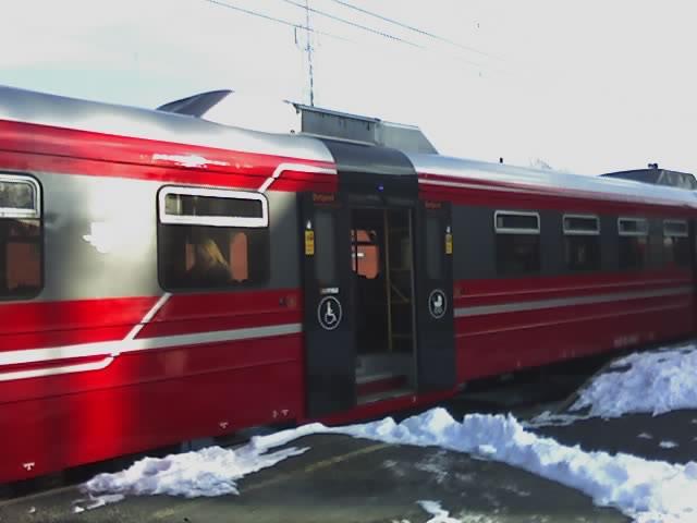 Train handicapés
